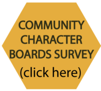 Community character boards survey